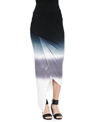 Sassy Tie-Dye Wrap Skirt