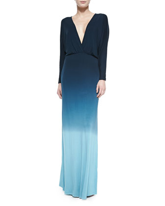 Easton Ombre Slub Maxi Dress