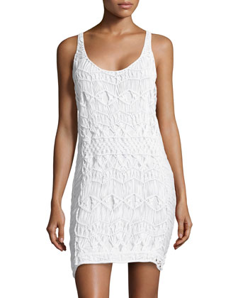 Crochet Racerback Dress