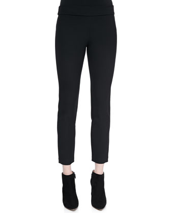 Lupa Cropped Leggings, Black