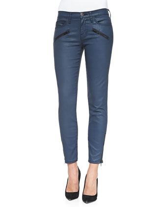 Super Loved Muscle Tee & Soho Zip-Ankle Stiletto Jeans