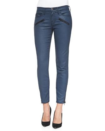 Soho Zip-Ankle Stiletto Jeans