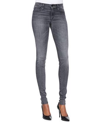 Louisa Mid-Rise Skinny Jeans