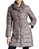 Olivia Packable Puffer Coat