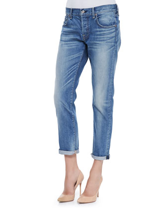 Relaxed Skinny Denim Jeans
