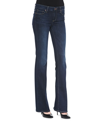 Skyline Boot-Cut Denim Jeans, Verona