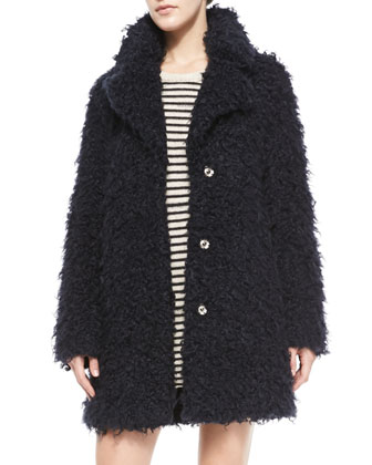 Kana Faux-Fur Snap Coat