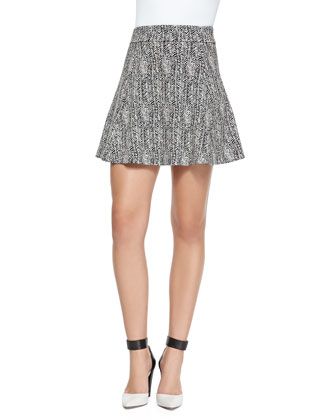 Doreene K Tweed Skirt