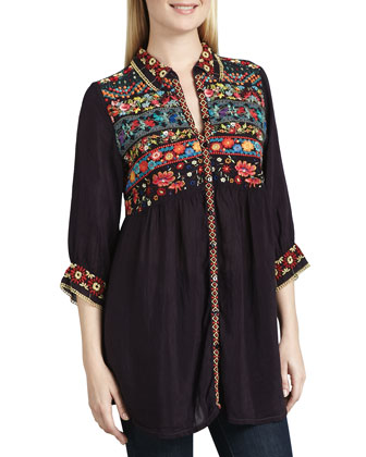 Artisan Embroidered Tunic, Women's