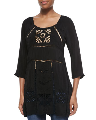Kaila Embroidered Tunic, Women's