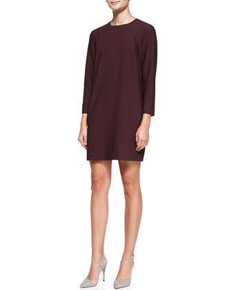 Kula W Trinity 2 Long-Sleeve Shift Dress