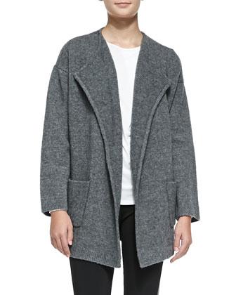 Darcian Wool-Blend Coat