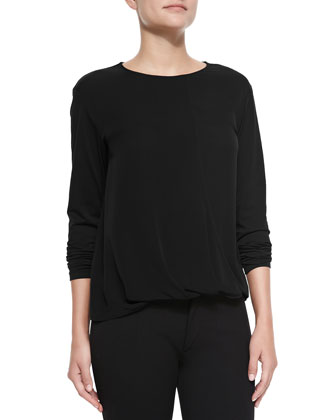 Drate Long-Sleeve Stretch Top