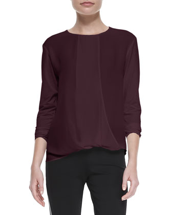 Drate Long-Sleeve Flowy Top