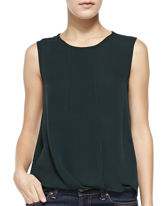 Dellasi Sleeveless Blouse, Holly Green
