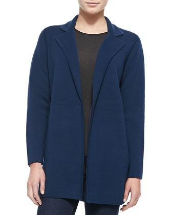 Double-Face Reversible Wool Jacket