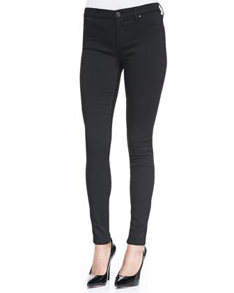 Dress to Kill Spray-On Skinny Jeans, Black