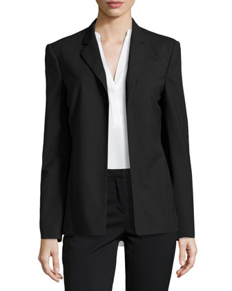 Slim Open-Front Jacket