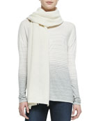 Knit Thermal Scarf