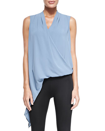 Cecil Draped Asymmetric Tank