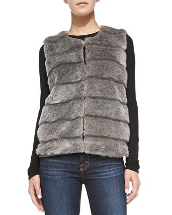 Andrina Faux-Fur Vest