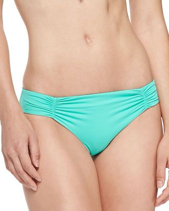 Hippie Chic Triangle Swim Top, Ruch-Side Swim Bottom & Mirage Estella ...