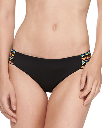 Night Tribe Double-Strap Swim Bottom