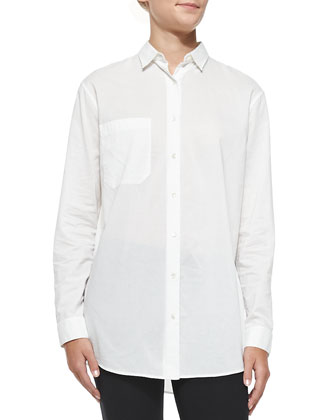 Oversize Cotton Boyfriend Shirt