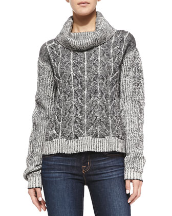 Merino Braided Cable Sweater