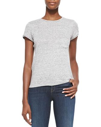 Sean Felt/Tech-Fabric Jacket, Jade Slub Pocket Tee & 811 Mid-Rise Skinny ...