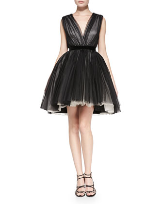 Princess Mesh/Tulle Pouf Dress
