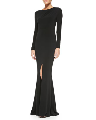Liana Open-Back Maxi Dress