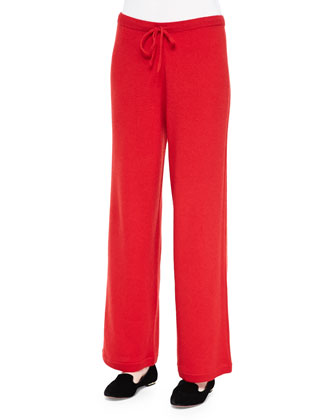 Cashmere Drawstring Pants