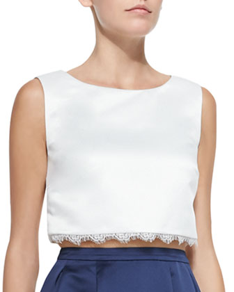 Jacqueline Crisscross-Back Top