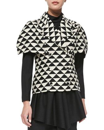 The Vionnet Short-Sleeve Jacket