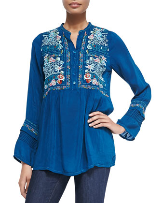 Mikaela Embroidered Tunic, Women's