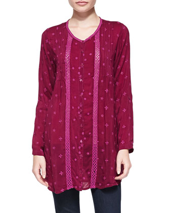 Long Embroidered Tunic