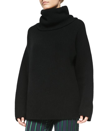 Naven Oversize Knit Turtleneck Sweater