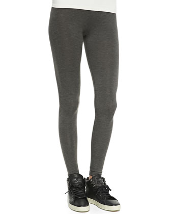 Terza Stretch-Slub Leggings