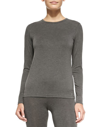 Kamera Long-Sleeve Slub Tee