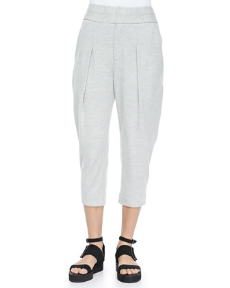 Sonar Wool Cropped Pants
