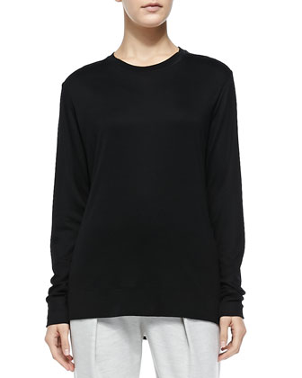 Sync Long-Sleeve Jersey Top