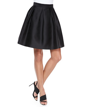 Quinn Box-Pleated Skirt