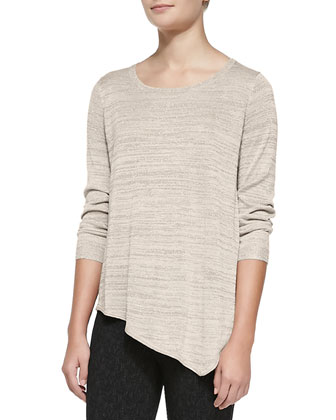 Tambrel C Metallic Knit Sweater
