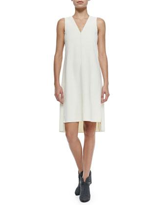 Fernanda Sleeveless Dress W/ Stacked Hem