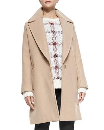 Razan Long Felt Coat