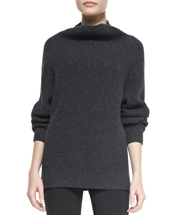 Pate Ribbed Knit Pullover Sweater