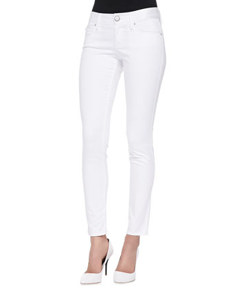 Worth Skinny Jeans, White