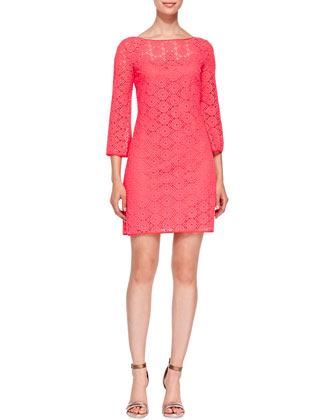 Topanga Lace Tunic Dress