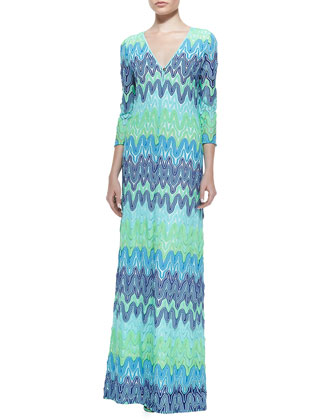 Lamora Lace Maxi Dress